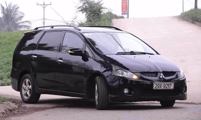 Mitsubishi Grandis 2005 giá 250 triệu - MPV đa năng đi trước thời đại