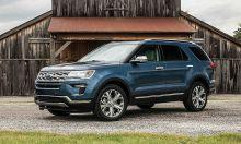 Ford triệu hồi 620.000 xe Explorer do lỗi giá nóc