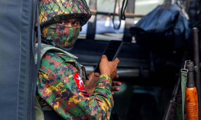 Quân đội Myanmar đụng độ phiến quân
