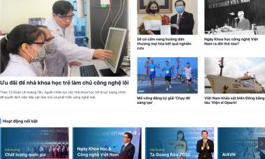 Ra mắt chuyên trang Ngày Khoa học Công nghệ Việt Nam