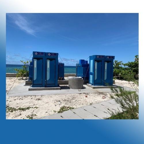Nhà vệ sinh sử dụng nước biển