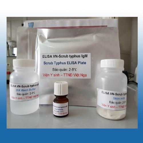 Bộ kít ELISA VN-Scrub typhus IgM