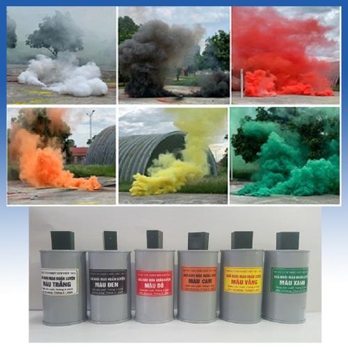 Hộp phát khói màu
