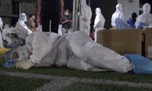 Y bác sĩ trắng đêm lấy mẫu ở tâm dịch Bắc Giang