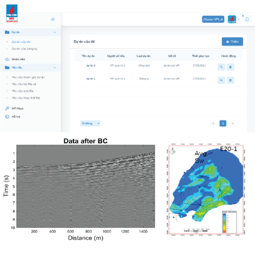 Phần mềm VPI-Blockchain quản lý dữ liệu thăm dò, khai thác dầu khí