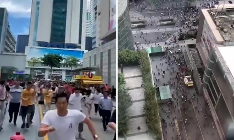 Tin mới: Tháp chọc trời rung lắc dù không có động đất