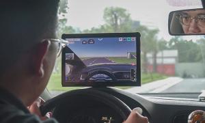 Công nghệ học lái xe trên đường dù ngồi một chỗ