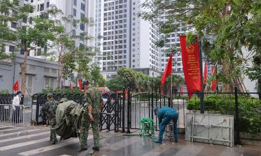 Điểm tin: 21 ca Covid tại Hà Nội, 1 ca tham gia hỗ trợ bầu cử