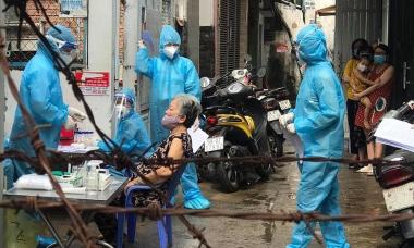 Điểm tin: Số ca nhiễm TP HCM xếp thứ 3 cả nước