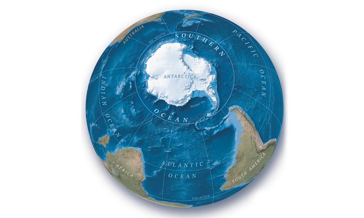 Nam Đại Dương trở thành đại dương thứ 5