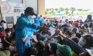 Điểm tin: Thêm 641 ca nhiễm, 9 địa phương đã dừng bay đến TP HCM