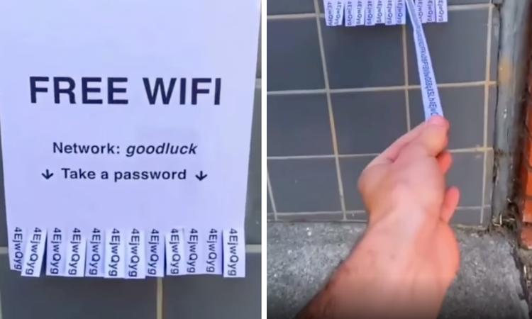 Mật khẩu wifi khiến người dùng bỏ cuộc