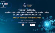 Ngày mai diễn ra tọa đàm 'Đào tạo nhân lực AI'