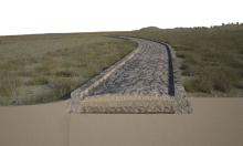 Phát hiện con đường La Mã chìm dưới biển 2.000 năm
