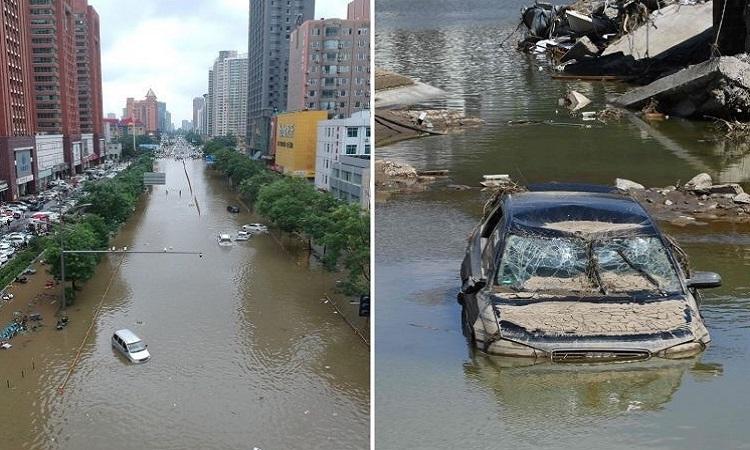 Vì sao Trung Quốc và châu Âu mưa lũ kỷ lục?