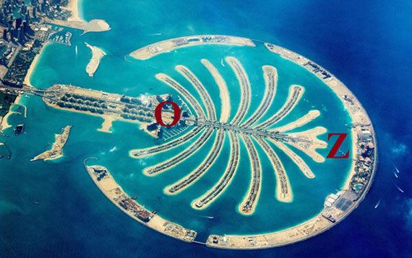 Đáp án bài toán du lịch trên đảo cọ ở Dubai