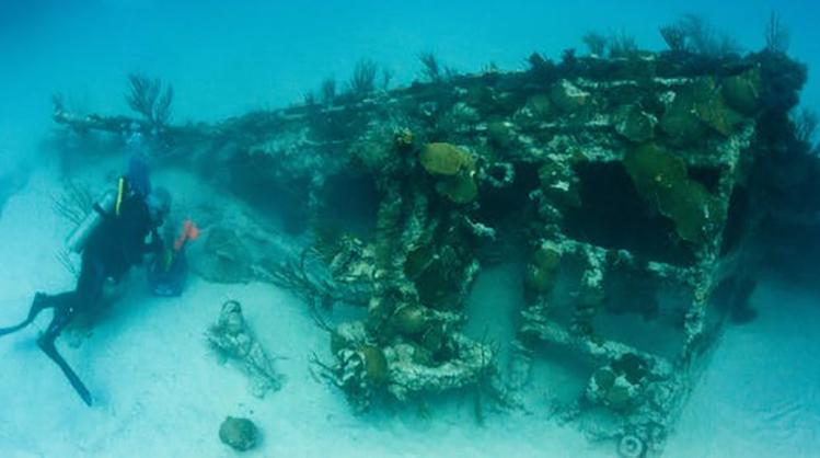 AI phát hiện xác tàu đắm từ trên không