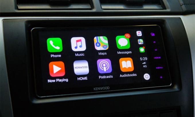 Cách kết nối iPhone cho Toyota Camry 2019?