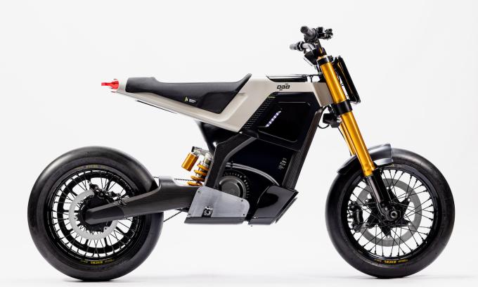 Dab Motor Concept E – môtô điện phong cách scrambler