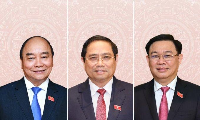 50 nhân sự lãnh đạo các cơ quan Nhà nước