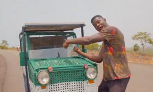 Chàng trai nghèo chế ôtô không động cơ diesel từ rác