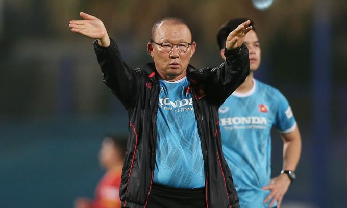 HLV Park: 'Không chỉ cần quyết tâm, nếu muốn thắng Trung Quốc'