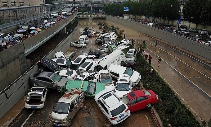 Gần 300 người chết vì 'đại hồng thủy' ở Trịnh Châu