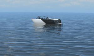 Thuyền cao tốc 475 mã lực chạy bằng điện