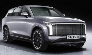 Hyundai Ioniq 7 – SUV điện ba hàng ghế