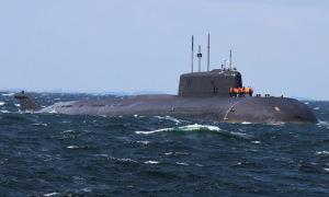 Tàu ngầm hạt nhân Nga chết máy, trôi dạt gần Đan Mạch