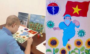 Hàng trăm bức vẽ cổ vũ y bác sĩ của bệnh nhi ung thư