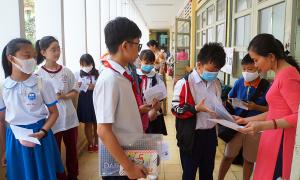 Trường chuyên Trần Đại Nghĩa công bố điểm chuẩn lớp 6