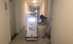 Robot Vibot hỗ trợ chống dịch tại TP HCM