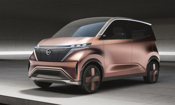 Nissan sắp trình làng mẫu K-car chạy điện mới