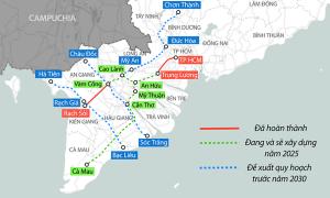 9.500 tỷ đồng làm cao tốc nối Tiền Giang với Đồng Tháp