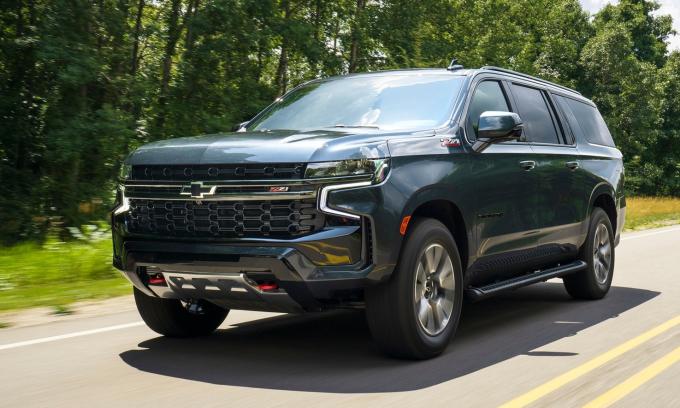 Chính phủ Mỹ mua hơn 1.800 xe SUV chuyên dụng