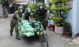 25 ngày cao điểm quân đội hỗ trợ TP HCM chống dịch