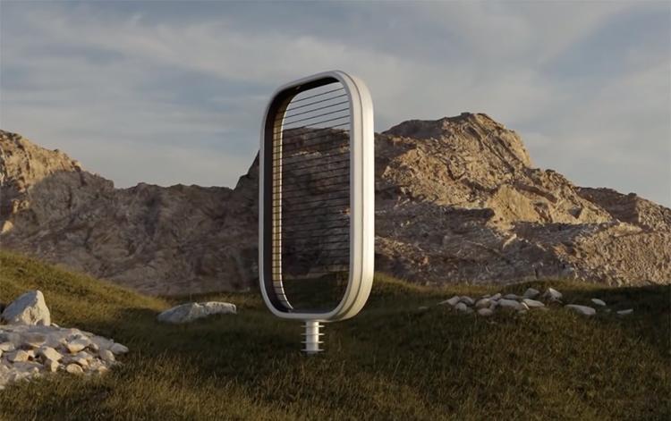 Đột phá với turbin gió không cánh quạt