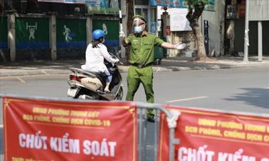 Điểm tin: Sau 21/9, Hà Nội duy trì 23 chốt cửa ngõ, dừng kiểm soát giấy đi đường