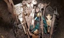 Hũ gốm 600 năm chứa đầy vàng bạc và ngọc lục bảo