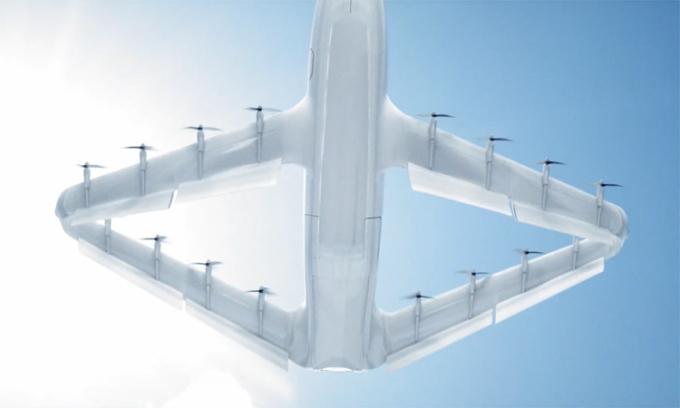 Máy bay cánh hình thoi có vận tốc 556 km/h