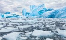 Băng vùng cực tan chảy làm méo vỏ Trái Đất