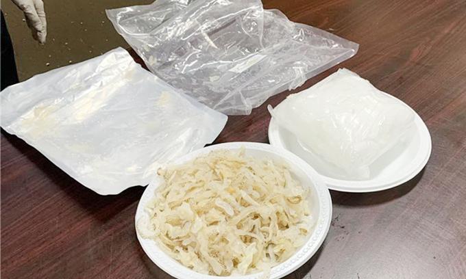 Liên tiếp phát hiện ma tuý trong thực phẩm gửi ra nước ngoài