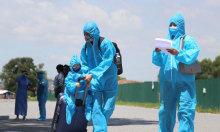 Bắc Giang tiếp tục đón hơn 900 người từ phía Nam về quê