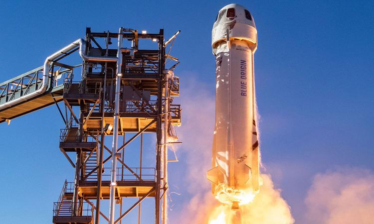 Blue Origin sắp phóng tàu vũ trụ chở người thứ hai