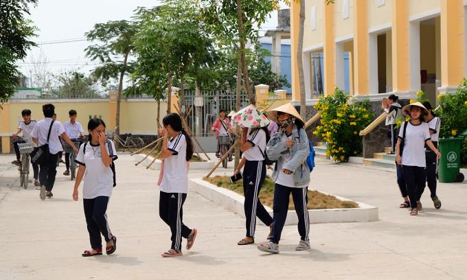Trường đầu tiên ở TP HCM chuẩn bị đón học sinh từ 4/10