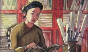 Ai là tác giả bài thơ 'Qua đèo Ngang'?