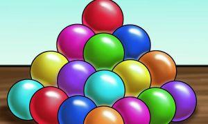 Có bao nhiêu quả bóng trong kim tự tháp?