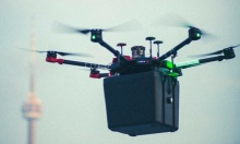 Drone chở phổi cấy ghép tới bệnh viện
