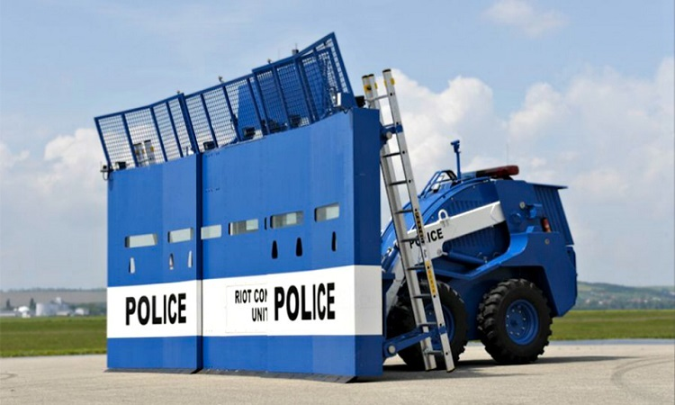 Những phương tiện cảnh sát hiện đại nhất thế giới